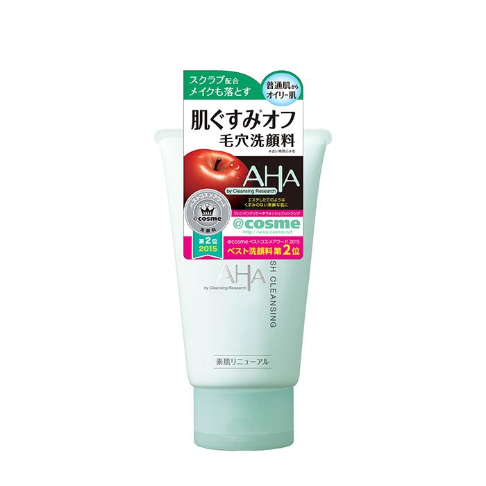 Пенка-скраб для умывания BCL AHA Wash Cleansing, Пенка-скраб с фруктовыми кислотами для глубокого очищения кожи лица, Япония  - Купить