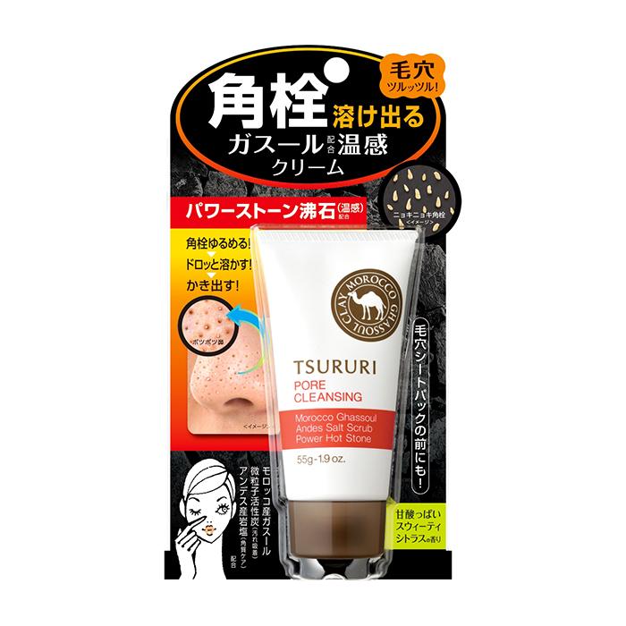 Купить Крем для очищения пор BCL Tsururi Pore Cleansing, Очищающий поры крем для кожи лица с разогревающим эффектом, Япония