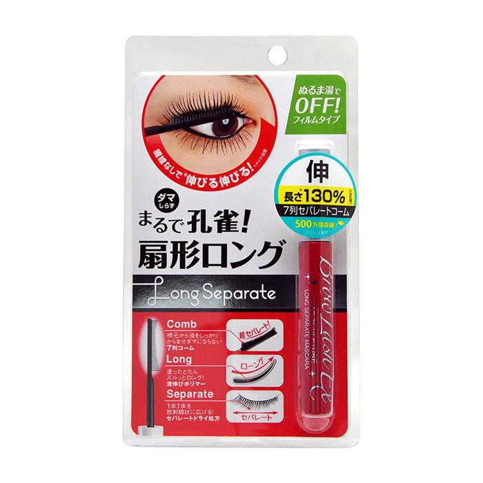 Купить Тушь для ресниц BCL Brow Lash EX Long Separate Mascara, Удлиняющая тушь для макияжа ресниц с возможностью снятия тёплой водой, Япония