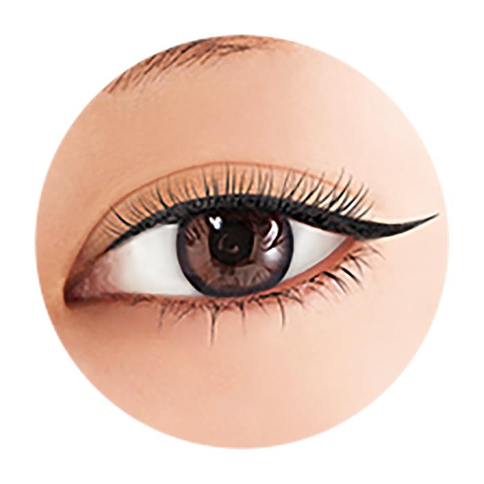 Купить Подводка для глаз BCL Brow Lash EX Water Strong Liner #01 Black | Насыщенный чёрный, Влагостойкая жидкая подводка для создания выразительного макияжа глаз, Япония