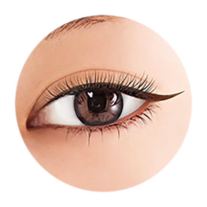 Купить Подводка для глаз BCL Brow Lash EX Water Strong Liner #02 Brown | Коричневый, Влагостойкая жидкая подводка для создания выразительного макияжа глаз, Япония