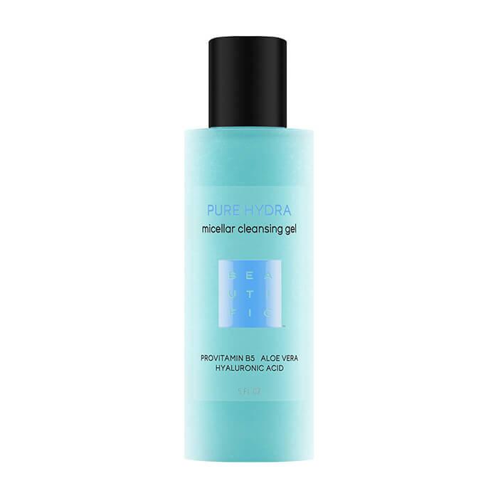Гель для умывания Beautific Pure Hydra Micellar Cleansing Gel Увлажняющий мицеллярный гель для умывания и снятия обезвоженности кожи фото