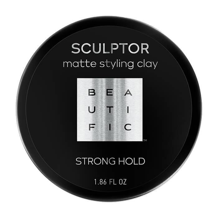 Глина для волос Beautific Sculptor Matte Styling Clay Глина для укладки и объёма коротких волос и волос средней длины фото
