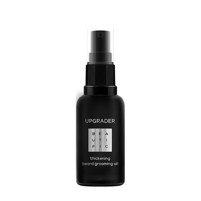 Купить Масло для лица и бороды Beautific Upgrader Thickening Beard Grooming Oil, Масло для увлажнения и смягчения кожи лица и бороды, США