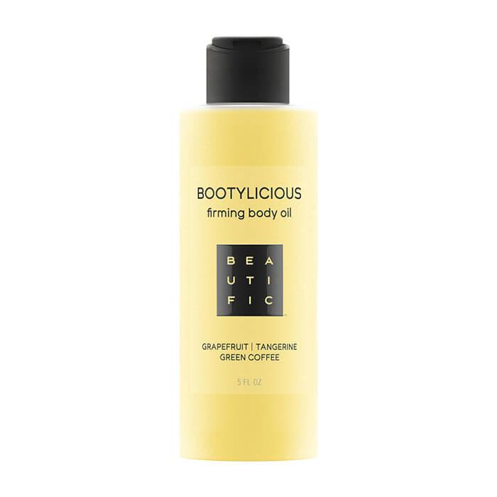 Купить Масло для тела Beautific Bootylicious Firming Body Oil, Антицеллюлитное масло для упругости тела с эссенцией грейпфрута и зеленым кофе, США