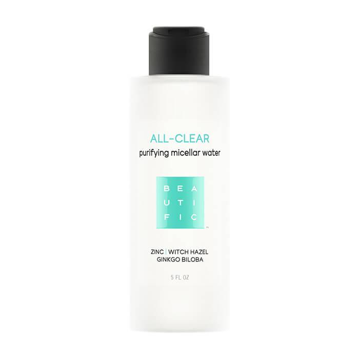 Купить Мицеллярная вода Beautific All-Clear Purifying Micellar Water, Мицеллярная вода для очищения кожи лица с себорегулирующей формулой, США