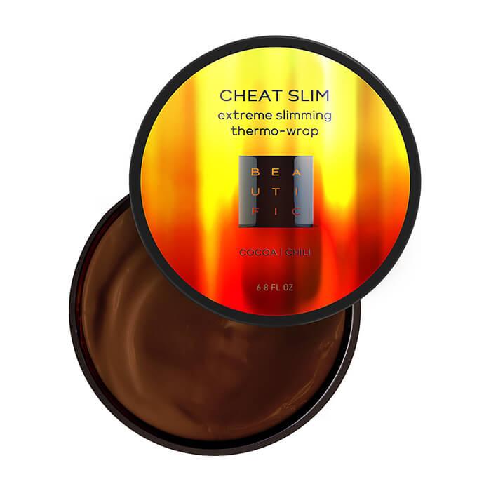 Обёртывание для тела Beautific Cheat Slim Extreme Slimming Thermo-Wrap Термоактивное обертывание для экспресс-похудения с перцем чили и какао фото