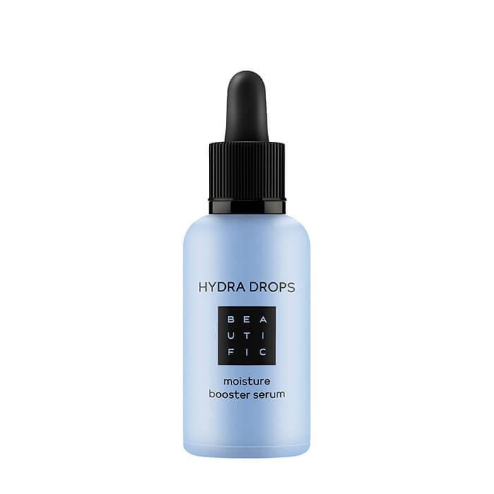 Сыворотка для лица Beautific Hydra Drops Moisture Booster Serum Ультра-гидратирующая сыворотка-бустер для интенсивного увлажнения кожи лица фото