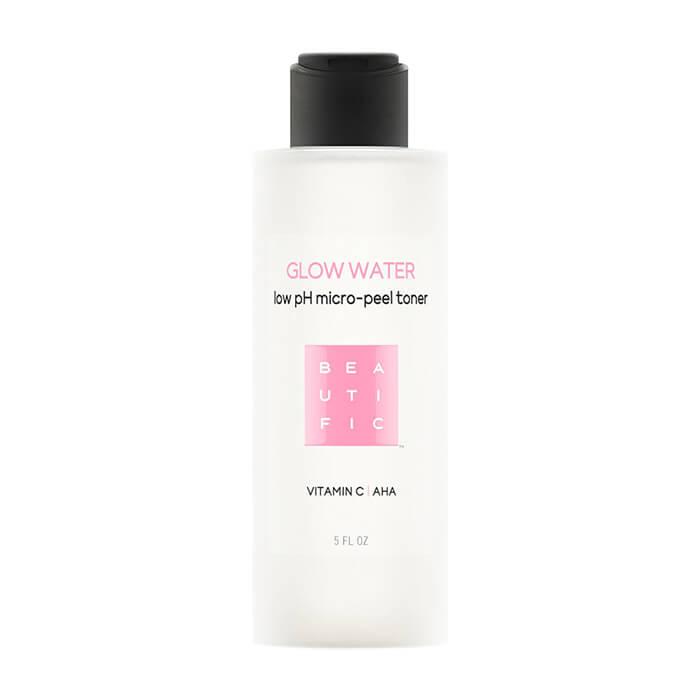 Тонер для лица Beautific Glow Water Low pH Micro-Peel Toner Обновляющий тонер для кожи лица с низким pH и витамином С фото