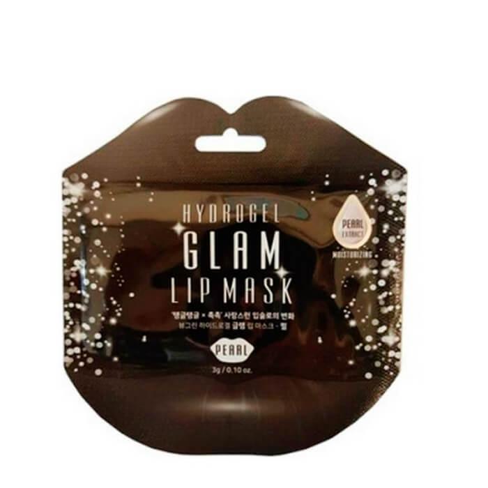 Купить Маска для губ BeauuGreen Hydrogel Glam Lip Mask - Pearl, Гидрогелевая маска для губ с экстрактом жемчуга, Южная Корея
