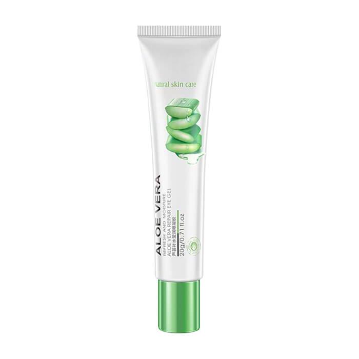 Купить Гель для век BioAqua Natural Skin Care Refresh & Moisture Aloe Vera 92% Eye Gel, Увлажняющий гель для области вокруг глаз с натуральным соком алоэ вера, Китай