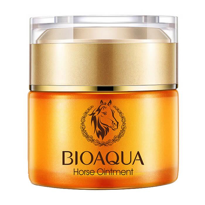 Купить Крем для лица Bioaqua Horse Ointment Cream (50 г), Активно увлажняющий и питательный крем для лица с лошадиным жиром, Китай