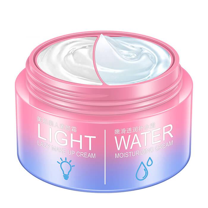 Крем для лица BioAqua Lazy Make Up Cream & Moisturizing Cream Двойной крем для увлажнения кожи лица и подготовки к макияжу фото