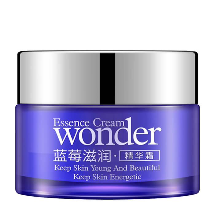 Крем для лица BioAqua Natural Blueberry Wonder Essence Cream Крем с экстрактом черники для повышения упругости кожи лица фото