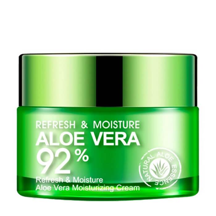 Купить Крем для лица Bioaqua Refresh & Moisture Aloe Vera Moisturizing Cream, Освежающий и увлажняющий крем-гель для лица и шеи с экстрактом алоэ вера, Китай