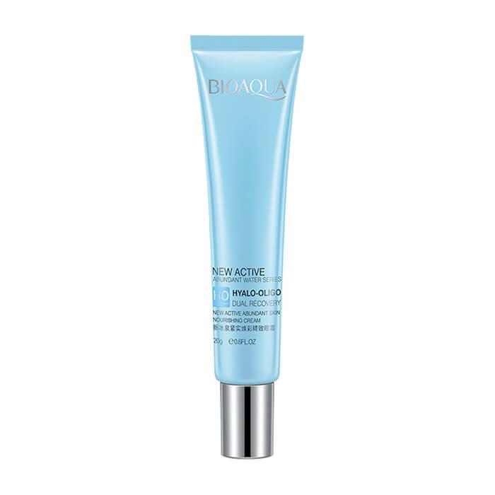 Купить Крем для век BioAqua Hyalo-Oligo Dual Recovery Nourishing Eye Skin Care Cream, Укрепляющий крем для области вокруг глаз с гиалуроновой кислотой, Китай