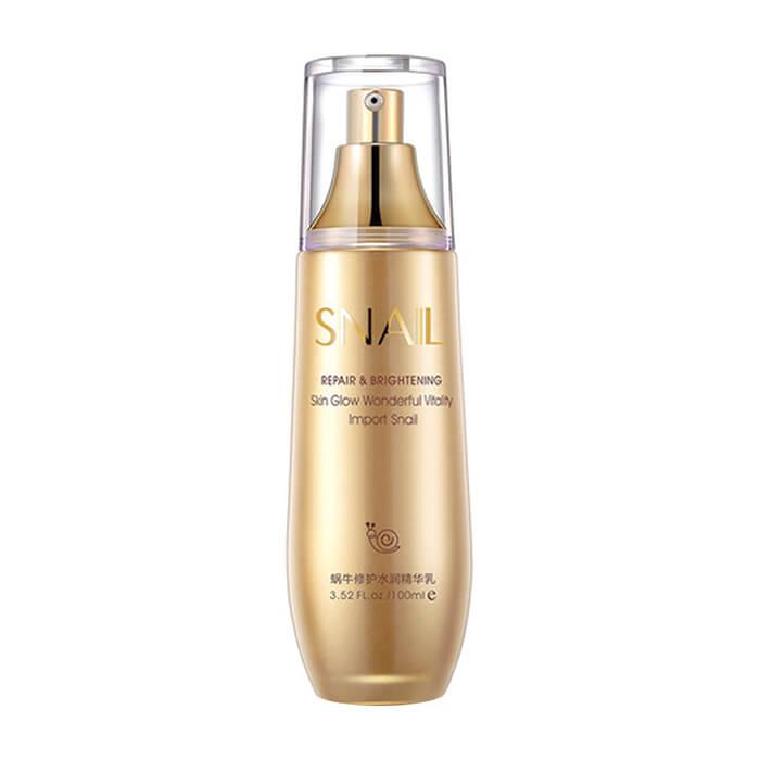 Купить Лосьон для лица BioAqua Snail Repair & Brightening Skin Liquid Essence, Восстанавливающий лосьон для увлажнения и сияния кожи лица с муцином улитки, Китай