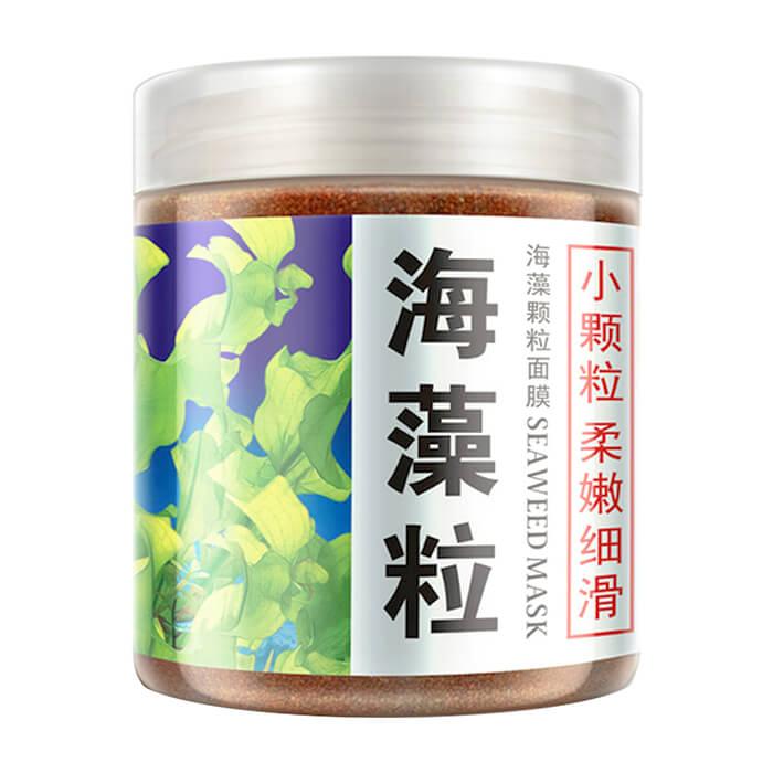 Маска для лица BioAqua Seaweed Facial Mask Маска для очищения и восстановления кожи лица из семян водорослей фото