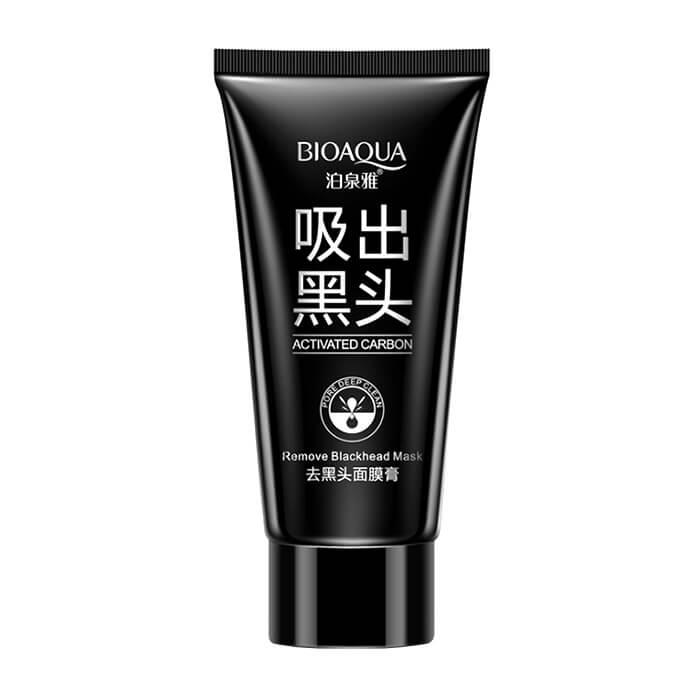 Купить Маска-плёнка Bioaqua Activated Carbon Remove Blackhead Mask, Маска-плёнка для лица от черных точек и воспалений с активированным углем, Китай
