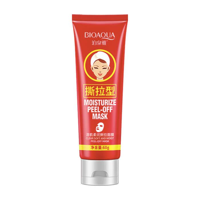Купить Маска-плёнка BioAqua Moisturize Peel-Off Mask, Маска-плёнка для очищения кожи лица от чёрных точек и комедонов, Китай
