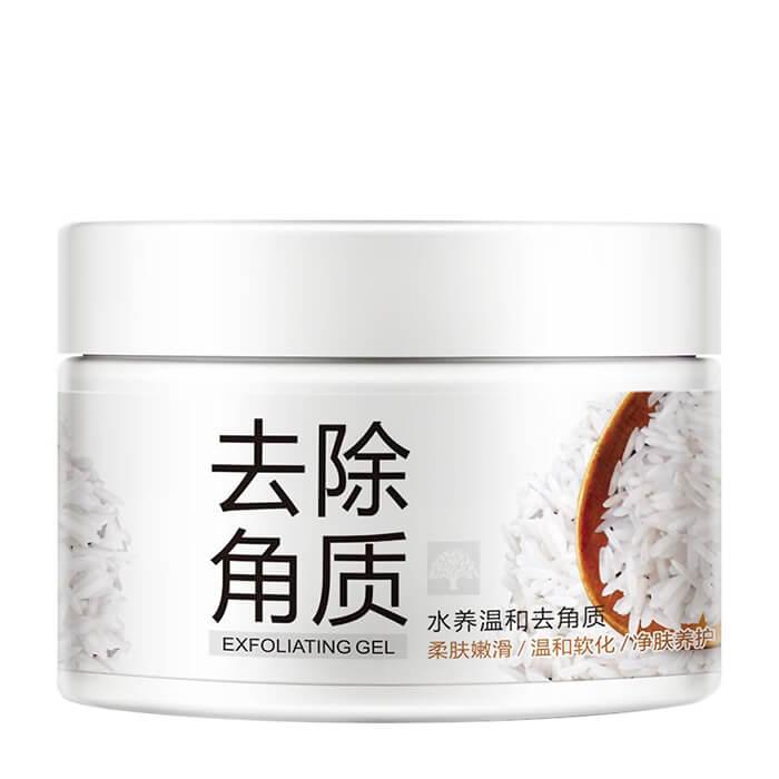 Купить Пилинг-скатка для лица Bioaqua Exfoliating Gel, Нежный отшелушивающий гель-скатка для лица с экстрактом риса, Китай