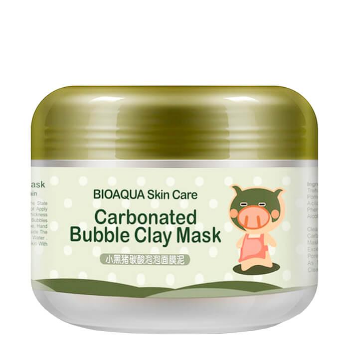 Купить Пузырьковая маска Bioaqua Carbonated Bubble Clay Mask, Кислородная маска для очищения лица с каолиновой глиной, Китай