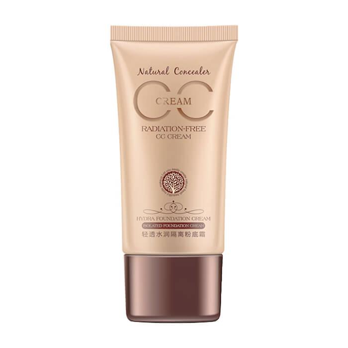Купить СС крем BioAqua Natural Concealer Makeup CC Cream #3 Натуральный, Универсальный CC крем для выравнивания тона и ухода за кожей лица, Китай