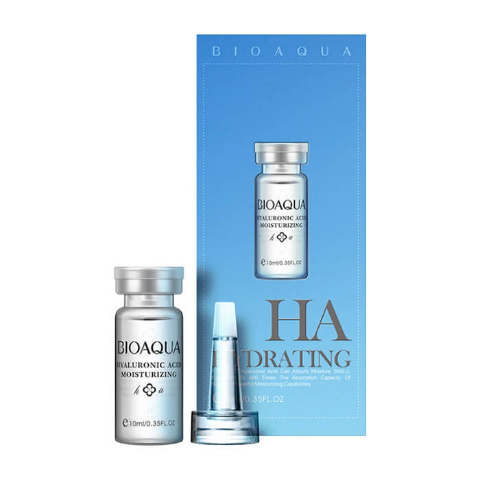 Сыворотка для лица BioAqua Hyaluronic Acid Moisturizing Serum Сыворотка для увлажнения кожи лица и разглаживания морщин с гиалуроновой кислотой фото