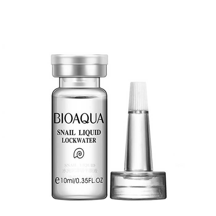 Купить Сыворотка для лица Bioaqua Snail Liquid Lockwater, Омолаживающая сыворотка для лица с муцином улитки и гиалуроновой кислотой, Китай