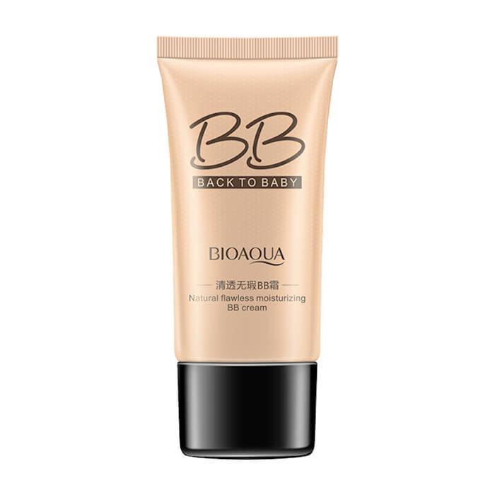 Купить ВВ крем BioAqua Natural Flawless Moisturizing BB Cream Back to Baby, BB крем с омолаживающим эффектом для увлажнения и разглаживания кожи лица, Китай