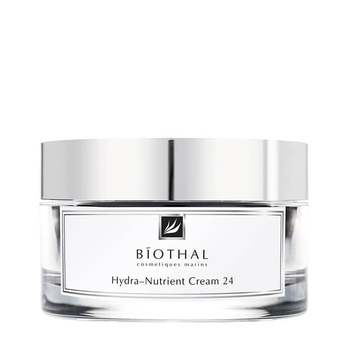 Купить Крем для лица Biothal Hydra-Nutrient Cream 24, Увлажняющий питательный крем для лица с легкой текстурой, Россия