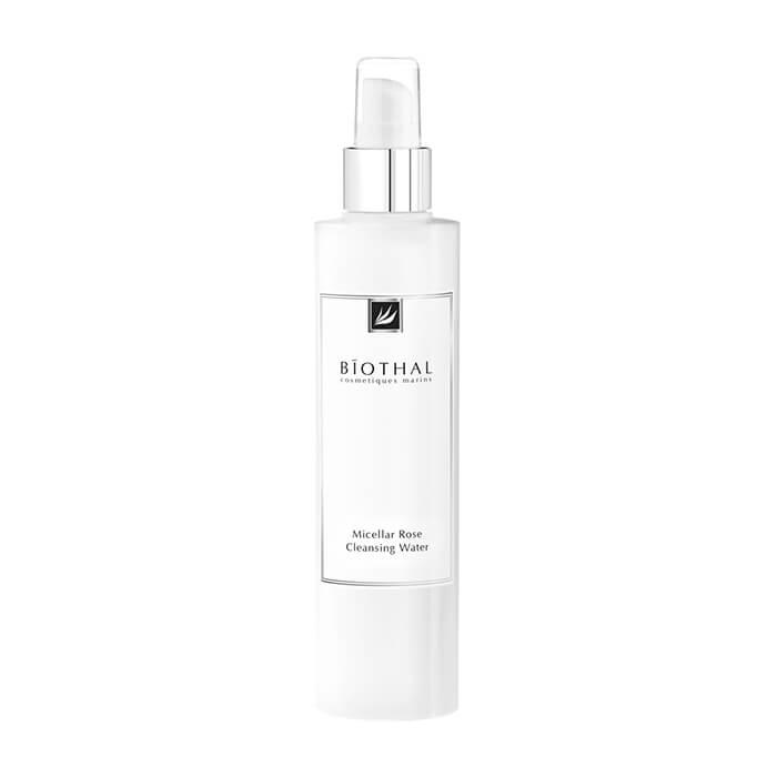 Купить Мицеллярная вода Biothal Micellar Rose Cleansing Water, Мицеллярная вода с экстрактом розы для очищения кожи лица от макияжа и загрязнений, Россия