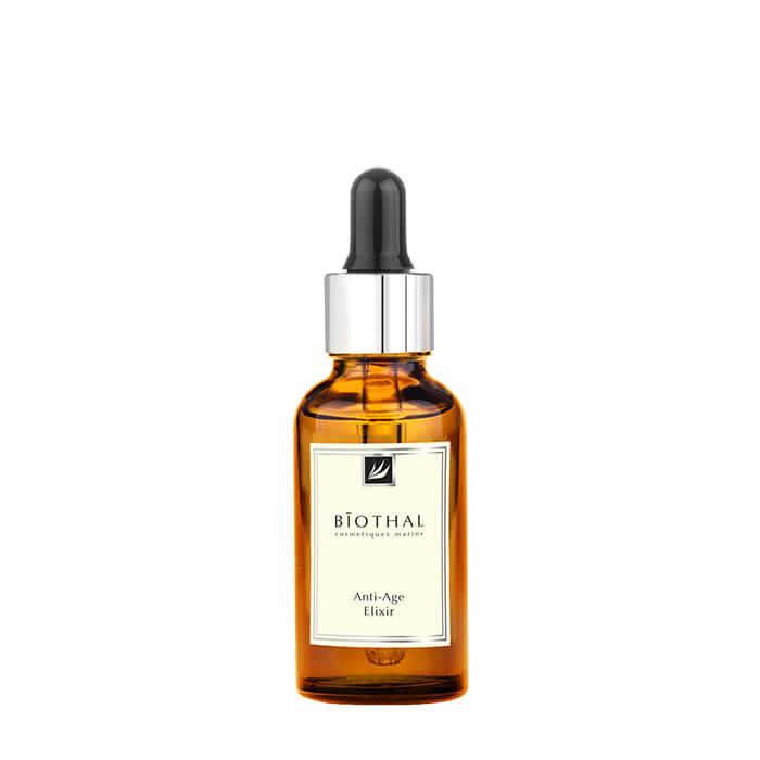 Сыворотка для лица Biothal Anti-Age Elixir Омолаживающая антивозрастная сыворотка для возвращения коже лица молодости и свежести фото