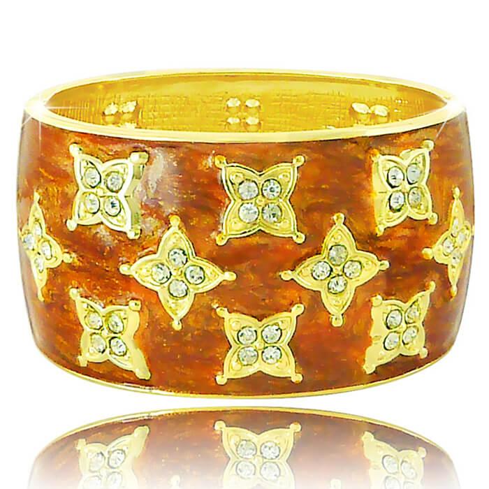 Купить Браслет на руку Laetitia Moreau - Gold, Браслет с гальваническим покрытием из золота 750 пробы, Бижутерия