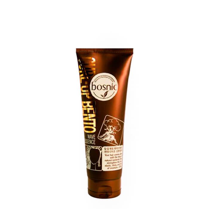 Эссенция для волос Bosnic Curl-Up Bento Wave Essence (100 мл) Увлажняющая эссенция для вьющихся волос с бентонитом