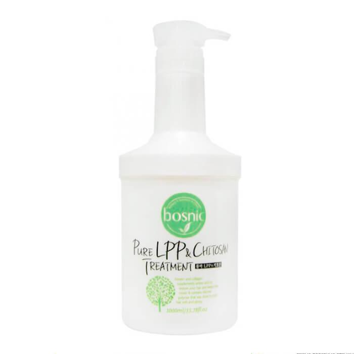 Маска для волос Bosnic Pure LPP & Chitosan Treatment Маска для волос с хитозаном и низко-молекулярными полипептидами фото