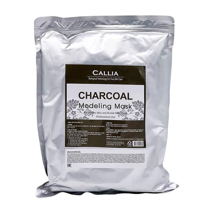 Купить Альгинатная маска Callia Charcoal Modeling Mask, Альгинатная маска для очищения и оздоровления кожи лица, Южная Корея