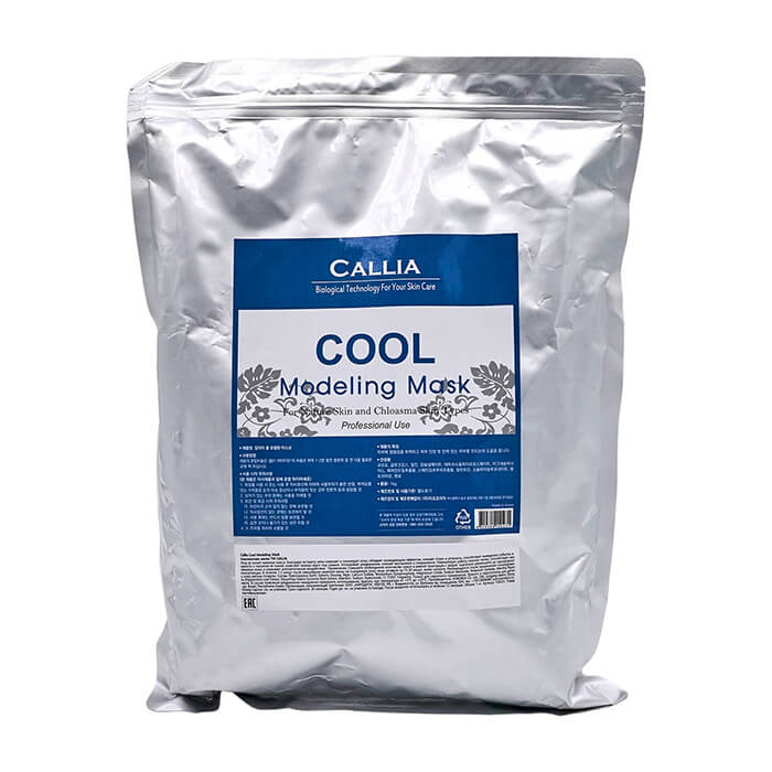 Купить Альгинатная маска Callia Cool Modeling Mask, Альгинатная маска для охлаждения и тонизирования кожи лица, Южная Корея