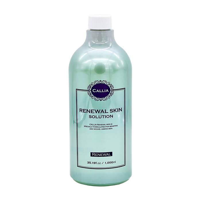 Купить Тонер для лица Callia Renewal Skin Solution, Увлажняющий тонер для кожи лица с гиалуроновой кислотой и муцином улитки, Южная Корея