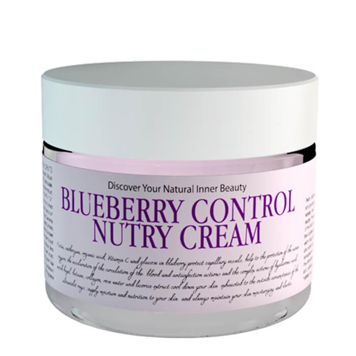 Купить Крем для лица Chamos Acaci Blueberry Control Nutry Cream, Питательный крем для лица экстрактом черники, Южная Корея