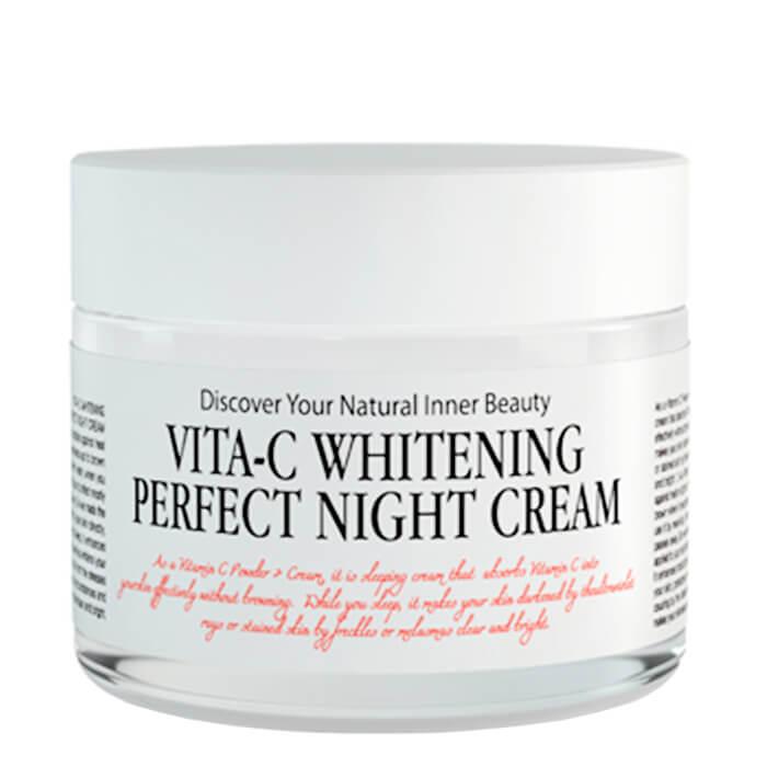 Купить Крем для лица Chamos Acaci Vita-C Whitening Perfect Night Cream, Восстанавливающий ночной крем для лица с витамином С, Южная Корея