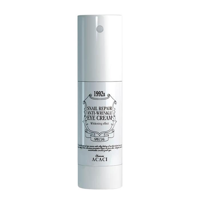 Купить Крем для век Chamos Acaci Snail Repair Anti-Wrinkle Eye Cream, Антивозрастной крем для кожи вокруг глаз с муцином улитки, Южная Корея