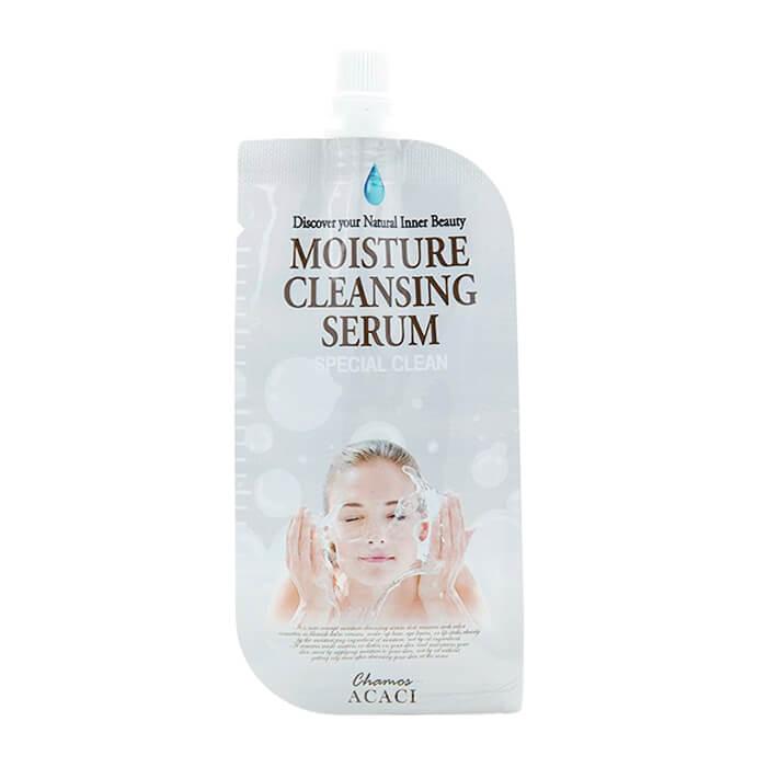 Очищающая сыворотка Chamos Acaci Moisture Cleansing Serum (12 мл) Увлажняющая сыворотка для умывания и снятия макияжа лица фото