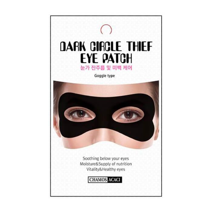 Купить Патч для глаз Chamos Acaci Dark Circle Thief Eye Patch, Маска для кожи вокруг глаз против морщин и тёмных кругов, Южная Корея