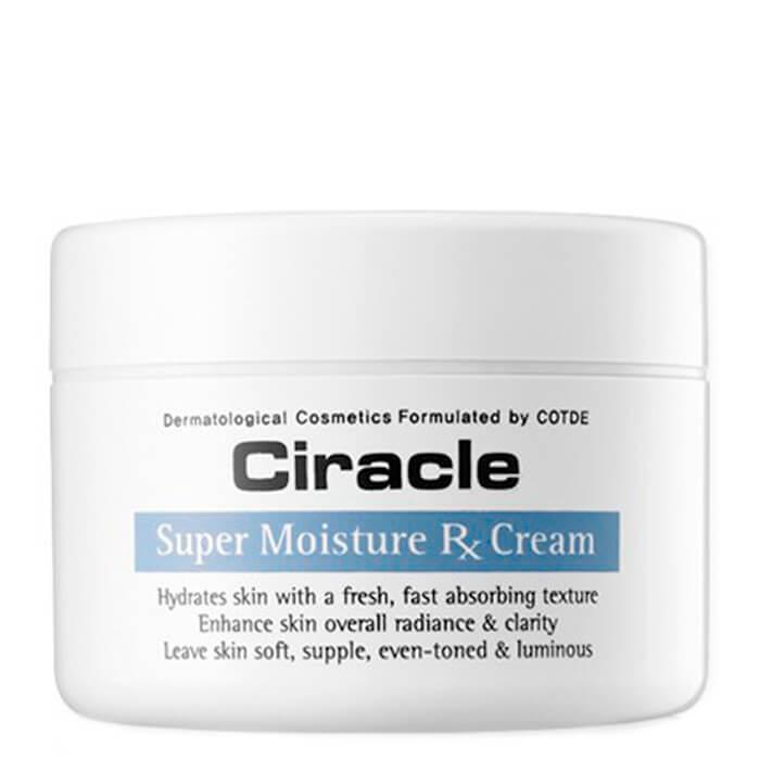 Купить Крем для лица Ciracle Super Moisture RX Cream, Лёгкий интенсивно увлажняющий крем для кожи лица, Южная Корея