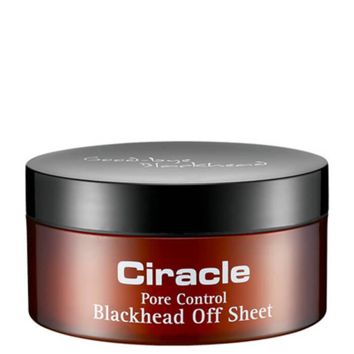 Купить Салфетки от чёрных точек Ciracle Pore Control Blackhead Off Sheet, Салфетки для глубокого очищения пор на носу от загрязнений, Южная Корея