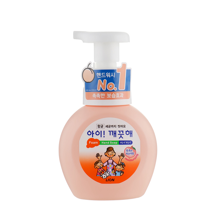 Жидкое мыло для рук CJ Lion Ai Kekute Foam Hand Soap Peach