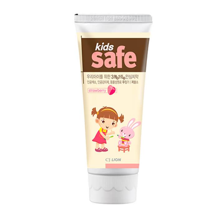 Детская зубная паста CJ Lion Kids Safe Toothpaste - Strawberry
