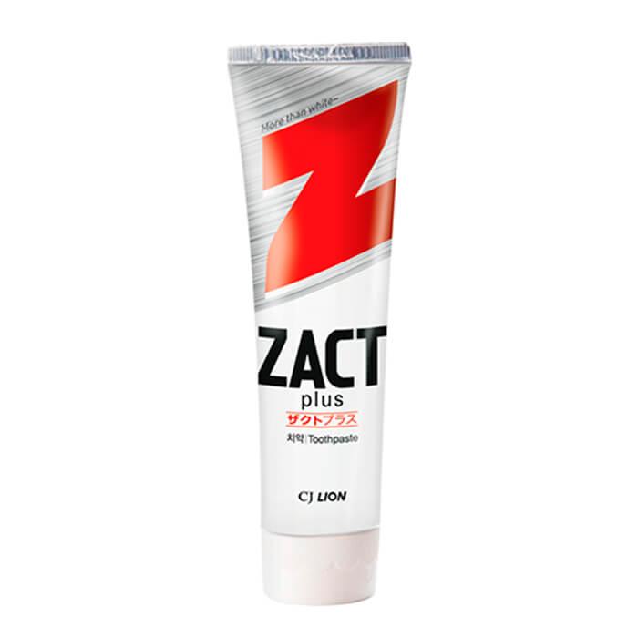 Купить Зубная паста для курящих CJ Lion Zact Toothpaste, Зубная паста для удаления кофейного и никотинового налёта, Южная Корея