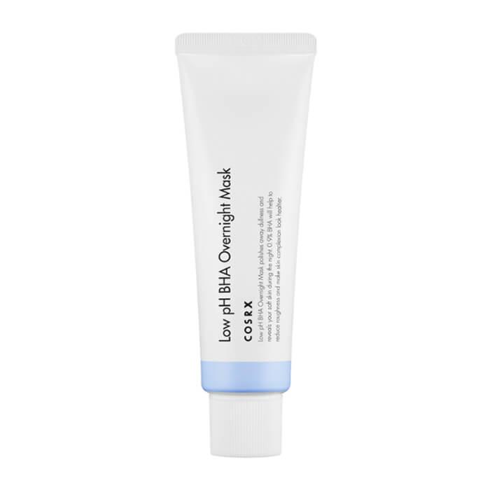 Купить Ночная маска CosRX Low pH BHA Overnight Mask, Ночная пилинг-маска для лица с BHA кислотами, Южная Корея